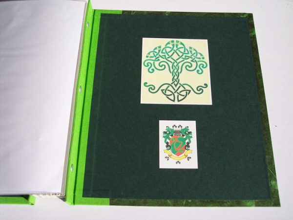 Celtic Knot Tree of Life Irish Crest Coversheets