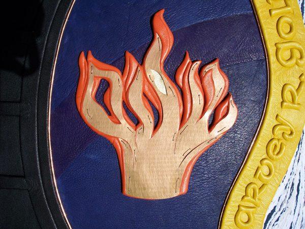 Copper Flame Album Emblem
