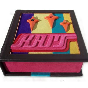 Retro Clamshell Custom Leather Box