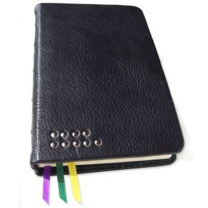 Riveted Leather Bible