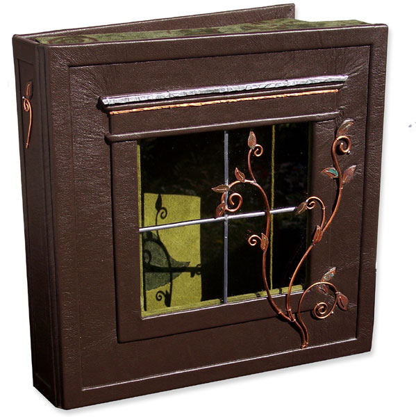 Copper Vine Window Box