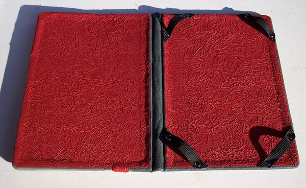 leather kindle or ipad cover interior