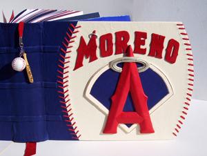 LA Angels Moreno Leather Album