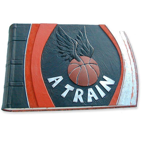 A Train NBA Basketball Scrapbook