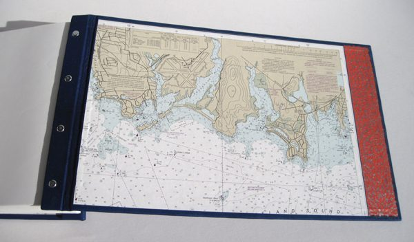 new london harbor map coversheets in book