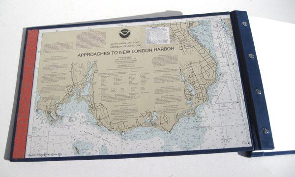coversheet maps of submarine harbor