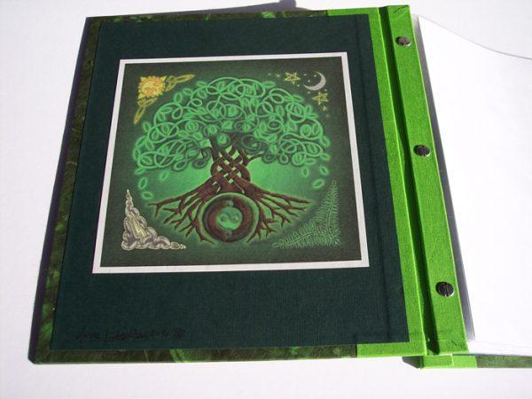 Tree of Life Celtic Knot Irish Endsheet