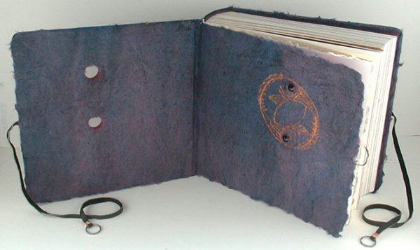 Yin Yang Pisces scrapbook coversheet