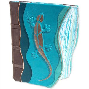 Copper Mosaic Lizard Book