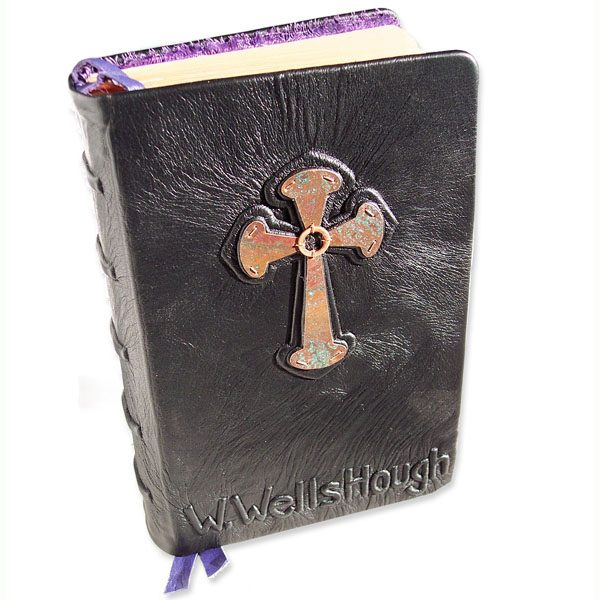 Celtic Cross Personalized Bible