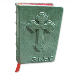 Green Leather Bible