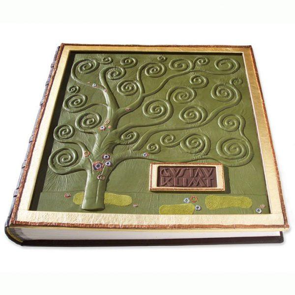 Gustav Klimt Custom Leather Art Book