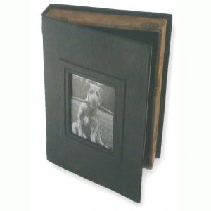 Black and Brown Photo Box