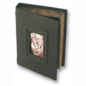 brown and black photo box