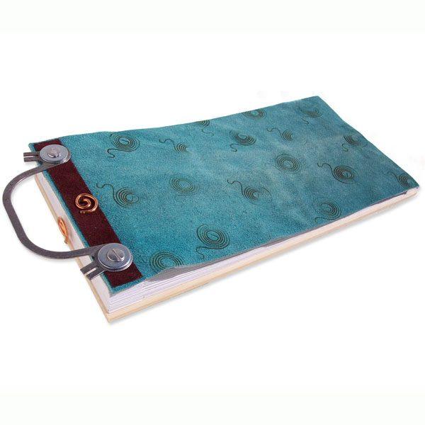 Leather Scrapbook Album with Handle