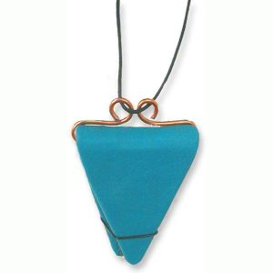 Refillable Triangular Necklace Book