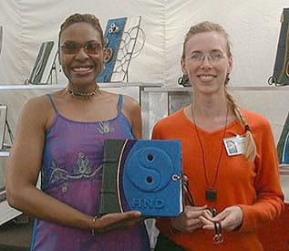 Blue Yin Yang Scrapbook