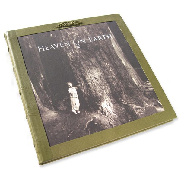 Leather Bound Biography Book
