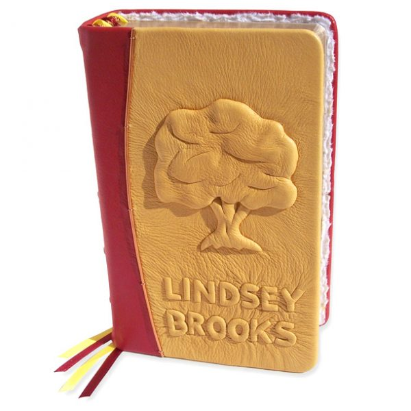 Custom Leather Embossed Tree of Life Bible with Name