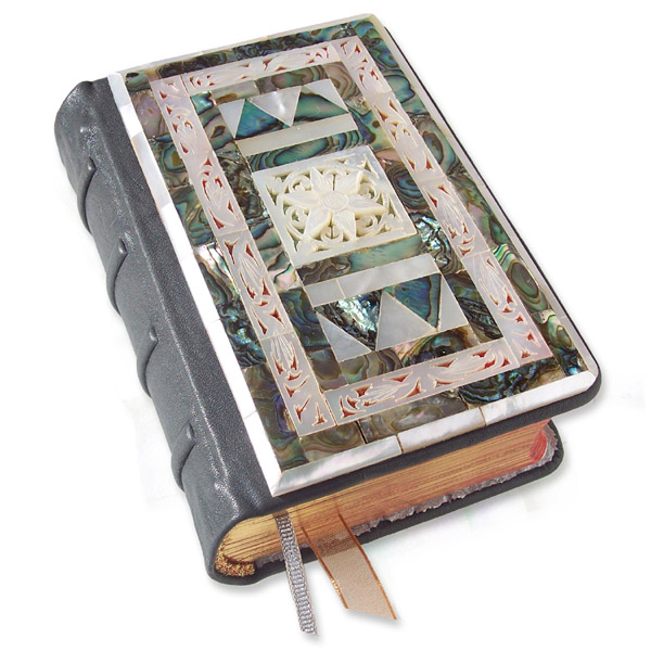 Refurbished Mother Of Pearl Bible