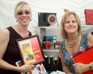 Marcia Engeltjes Ann Arbor Art Fair Award for Custom Leather Bookbinding