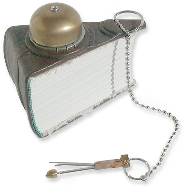 Rotary Phone Bell Wedge Book