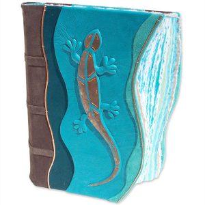 Copper Mosaic Lizard Book