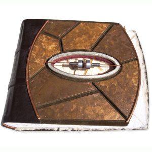 Copper Mosaic Album with Window