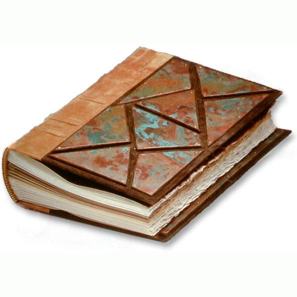 Copper Mosaic Wedding Album