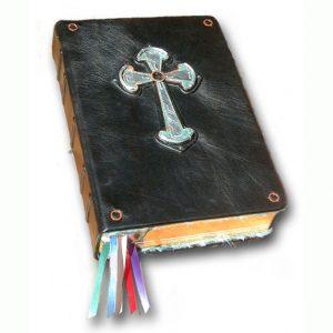 Embellished Celtic Cross Bible