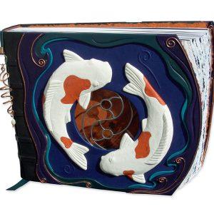Koi Fish Yin Yang Scrapbook