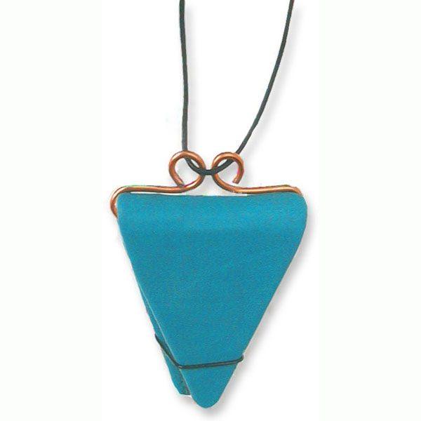Refillable Triangular Necklace Book