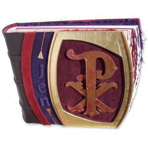 Chi Rho Christian Symbol Scrapbook